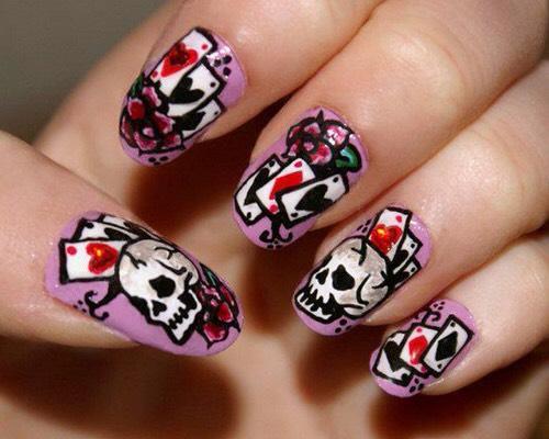 Skulls, Roses& Cards💀🌹🃏⤴️