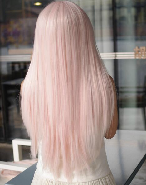 28. Pink Pastel Scene Dyed Hairstyle: