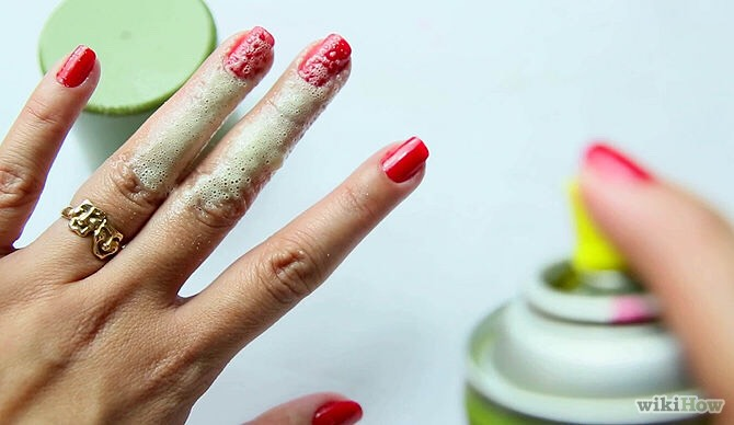 3. Quick Nail SetterIf your in a hurry, spray your nails with cooking spray (Pam) and it will set your nails instantly.