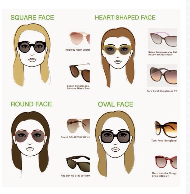 4bc11f5294 Do you have so many pairs of sunglasses but still do not know which ones  suit your face the best  Maybe you find yourself grabbing for one or two  pairs all ...