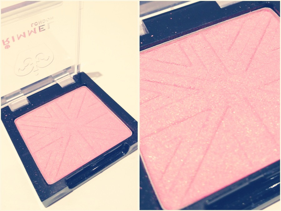 This rimmel blusher is gorgeous not to shiny or fake just a subtle clout great for highlighting and contouring