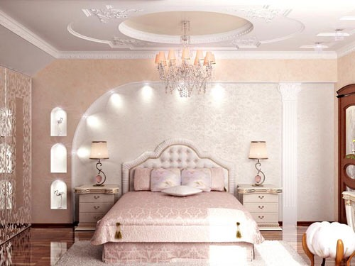 This room is all pink but it looks very elegant and classy
