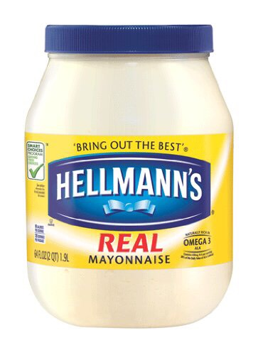 Use mayonnaise as a deep conditioner to make it soft and shiny