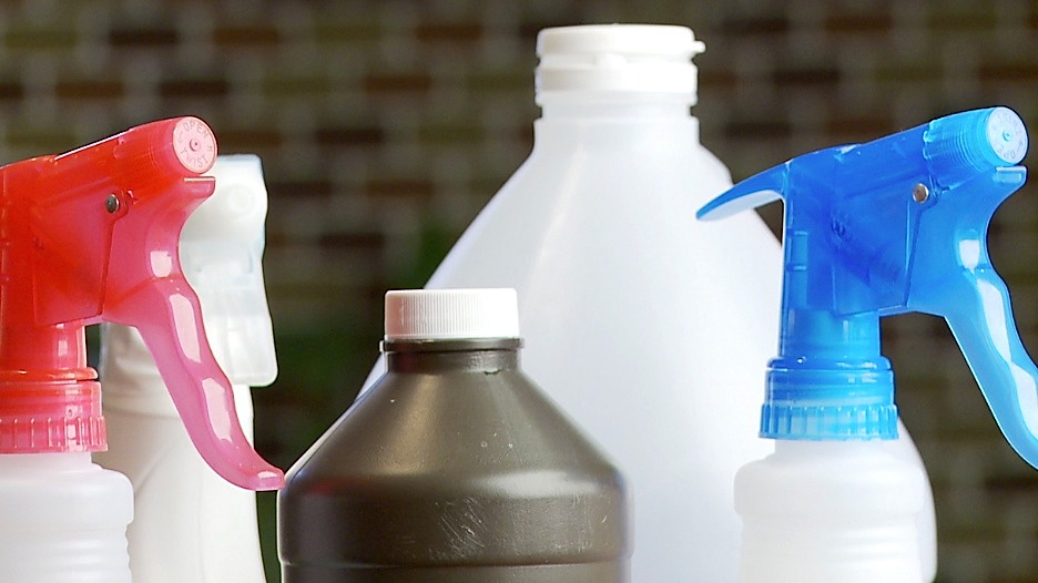 Disinfectant - makes 1 medium bottle Safe for use on granite, great for killing germs anywhere. 3 tbsp Castile soap 30 drops essential oil Enough water to fill bottle