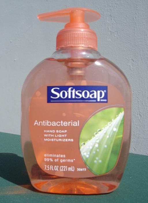 You need some antibacterial soap....