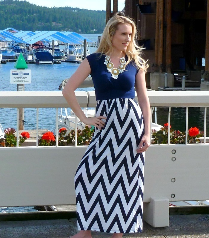 Summer is here, finally! The perfect thing to wear during these warm beachy days is a maxi dress! Maxi dresses make us look taller, and therefore thinner! There is no better way to kick off the summer of 2k14 than with a maxi dress and some wedges!