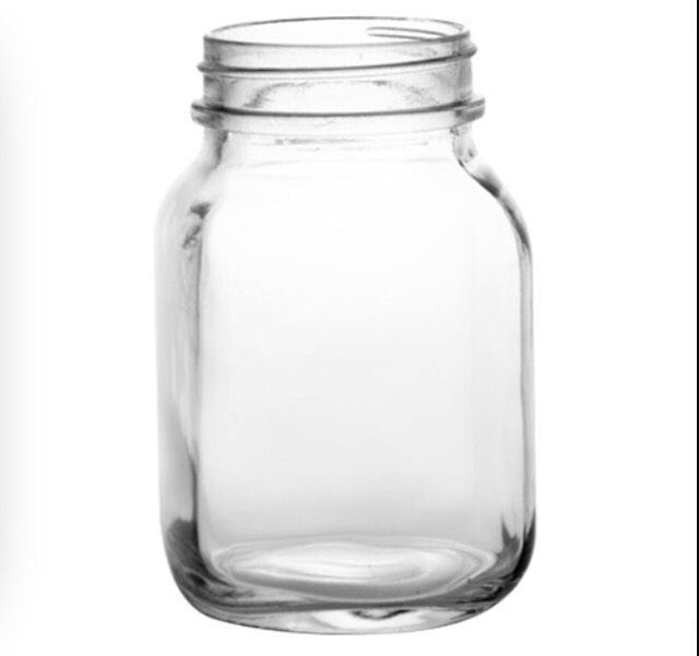 First, you need to get a mason jar ( you can find these at the dollar store for $1)