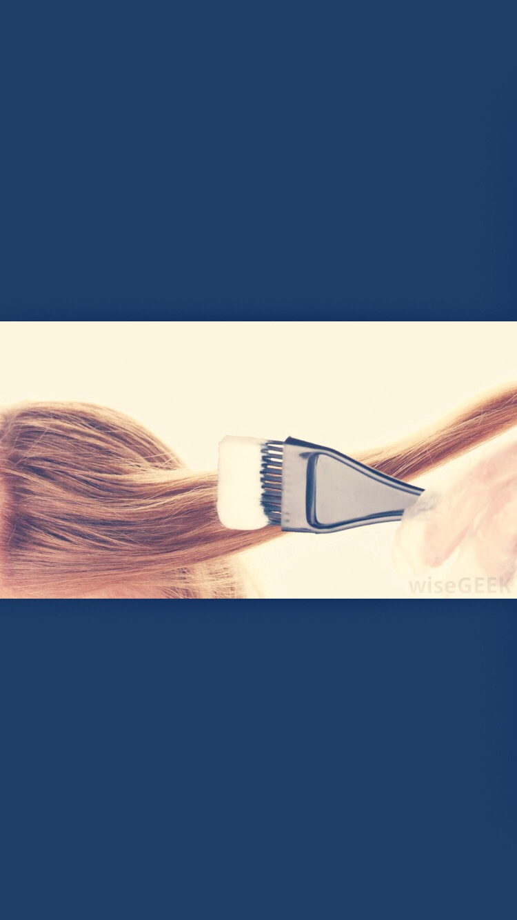 APPLY to Hair in SECTIONS to make sure you get every part of your hair