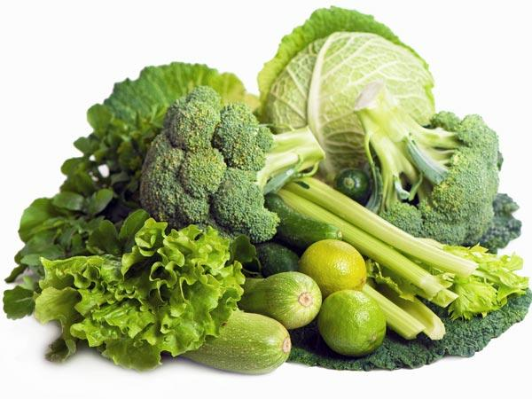 Green Vegetables have many health benefits for the skin, hair and body. Green vegetable contain proteins, minerals, vitamins and other nutrients that are good for hair growth and quality. Green vegetables are best foods for increasing hair growth and thickness.