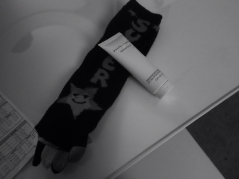 For soft feet use lotion of your choice and comfy socks
