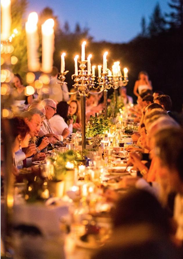 9. Copious Candles: Candles work magic in any room, even more so at a wedding. This is perhaps the most affordable way to add instant romance to your soiree.but for full on romance, it has to be tall candelabras for a dramatic, gothic, feel.