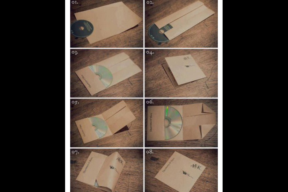 How to make your own cd case