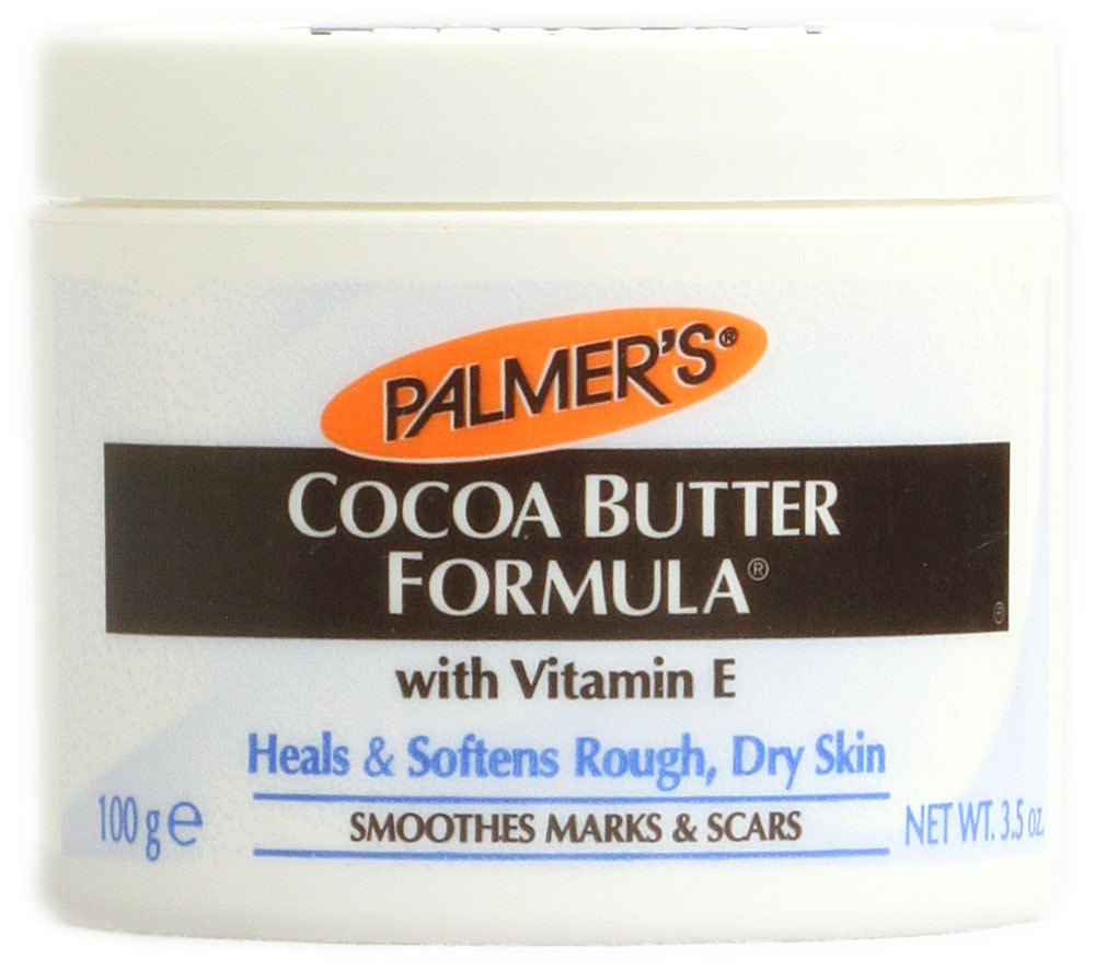 Cocoa butter helps fade stretch marks after pregnancy it also helps fade scars leaving skin healthy and smooth