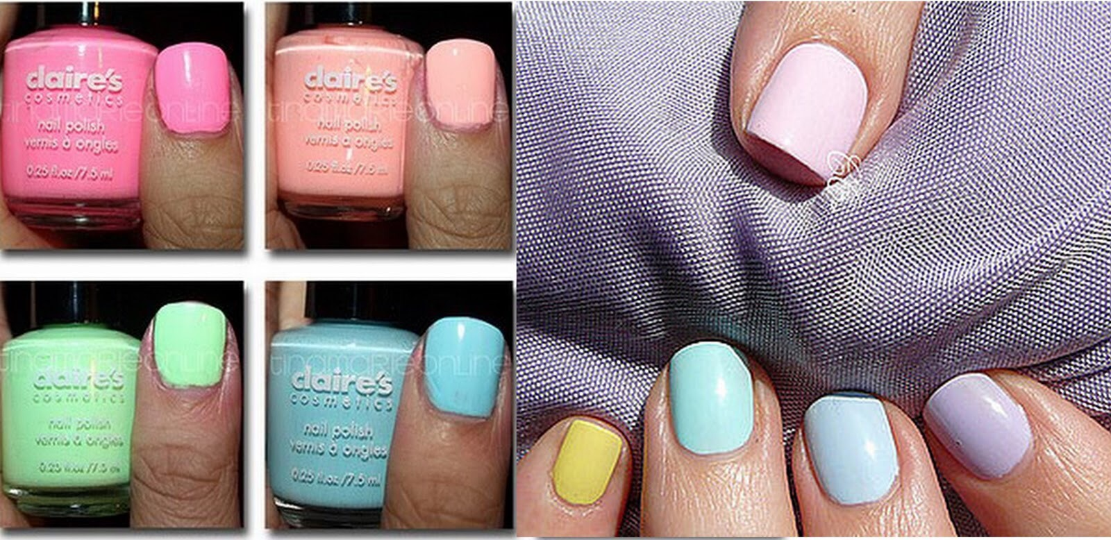 PASTEL! Pastel nails are for those pretty and preppy chicks!