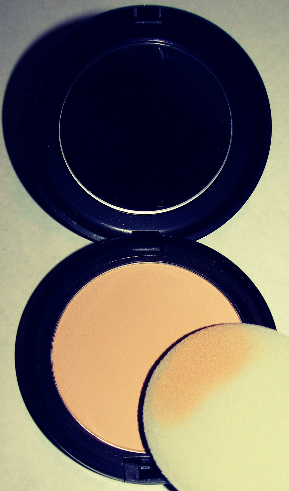 5) If you have oily skin then set your makeup with a powder for an all over soft, eggshell finish!
