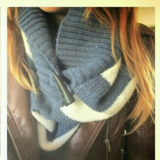 use the body of the sweater for a scarf to reuse each piece