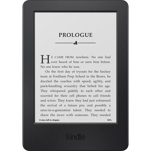 Kindle For the book lover!  https://www.amazon.com/gp/aw/d/B00I15SB16/ref=mp_s_a_1_1?qid=1448855840&sr=8-1&pi=SY200_QL40&keywords=Kindle&dpPl=1&dpID=51XGerXeYeL&ref=plSrch