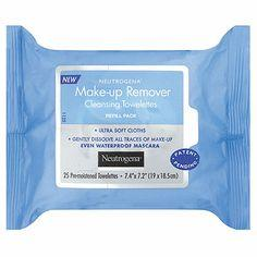 21. Too lazy to wash your face at night? Keep face wipes by your bed.