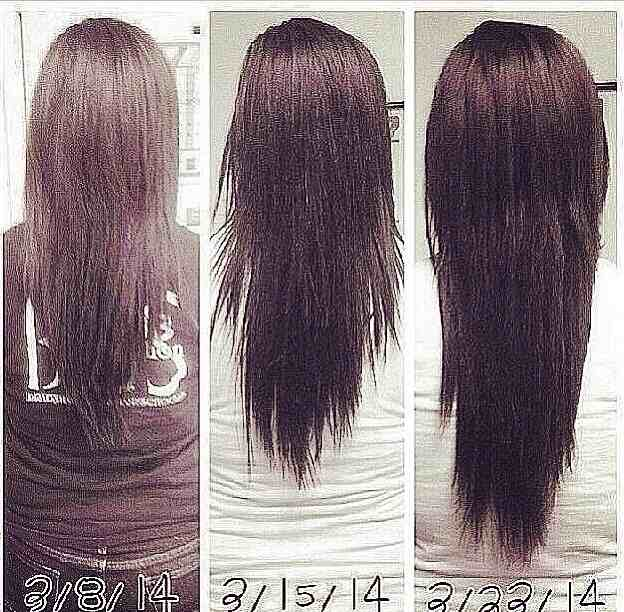 Inversion Method For Natural Hair Growth