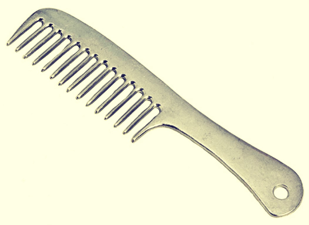 By using a wide tooth comb, it will reduce the amount of damage caused to the hair which is caused by a normal brush. Brush your hair gently when you come out of the shower. Try not to pull and tug on your hair as this will break your hair molecules.