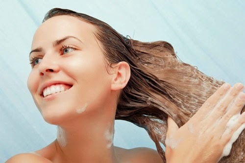 Then rinse that out and apply your conditioner only in the ends of you hair