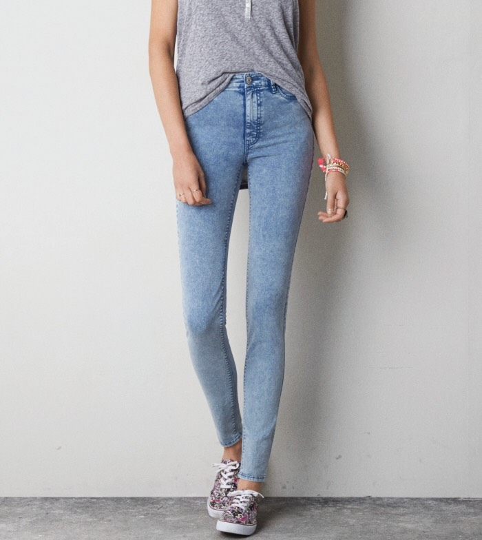 If your school or work doesn't allow leggings, some jeggings will do the trick. They look like jeans but feel like leggings allowing you to get away with it.