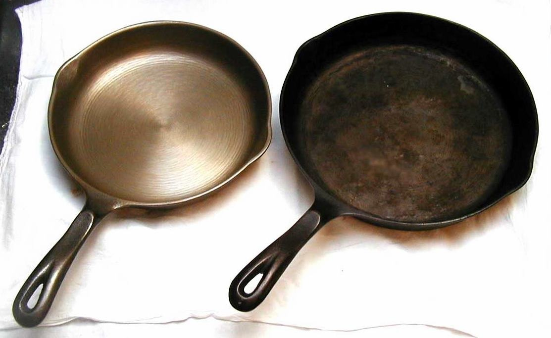 After you wash a pan, when it drys rub a small light coating of vegetable (or olive) oil inside the pan so it will stay lubricated until the next use. This will keep any rust from forming