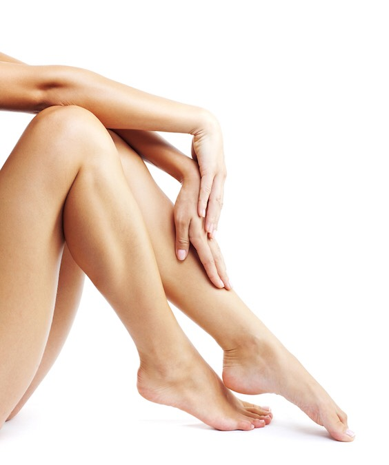 Moisturize your legs in the morning before getting dressed. This will keep your legs from losing any moisture and keep them super soft to the touch!