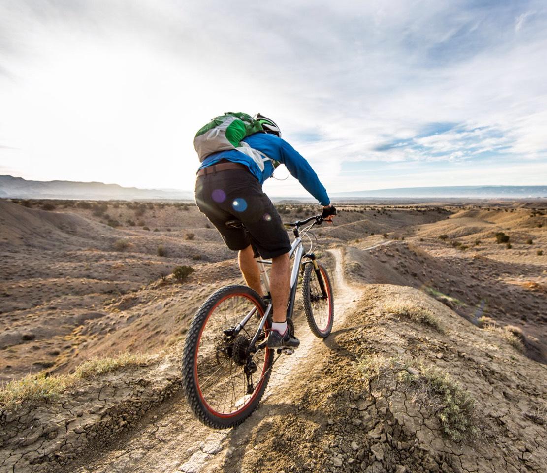 3. Biking  Forget your car, use a bike !