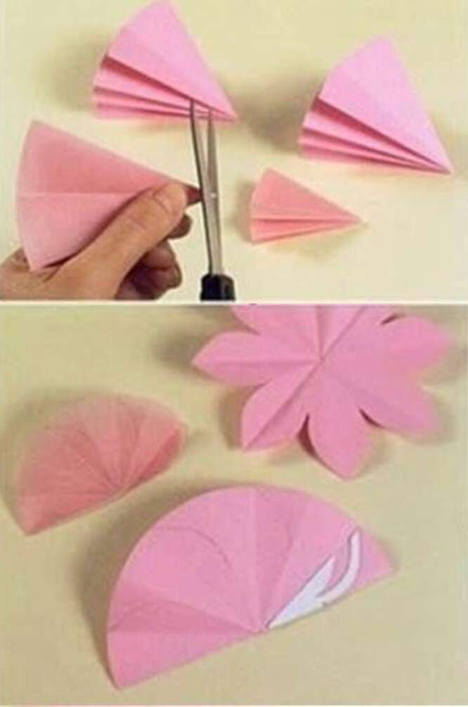 Musely for Diy paper lotus candlestick