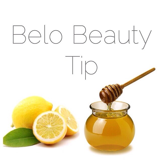 bye bye blackheads! cut a lemon half, put 3 drops of honey and apply to desired area. rinse after 5 mins! you'll notice the improvement after.