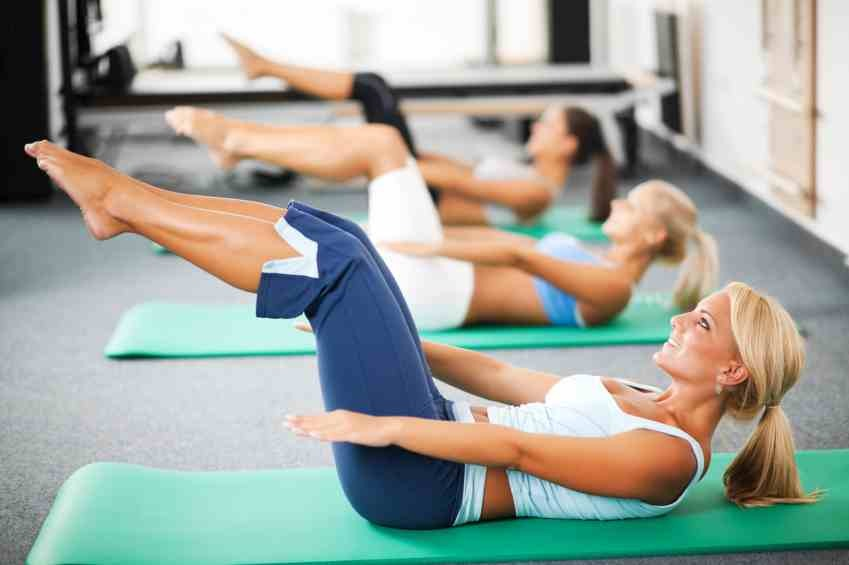 Pilates. Same results In a shorter time than yoga but sometimes there's Pilates than yoga. It's hard work but it's worth it and you will love it once you get used.