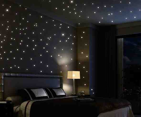 Did you ever have these glow in the dark stars in your room as a kid? Well you can add them to the walls to have fun as an adult.