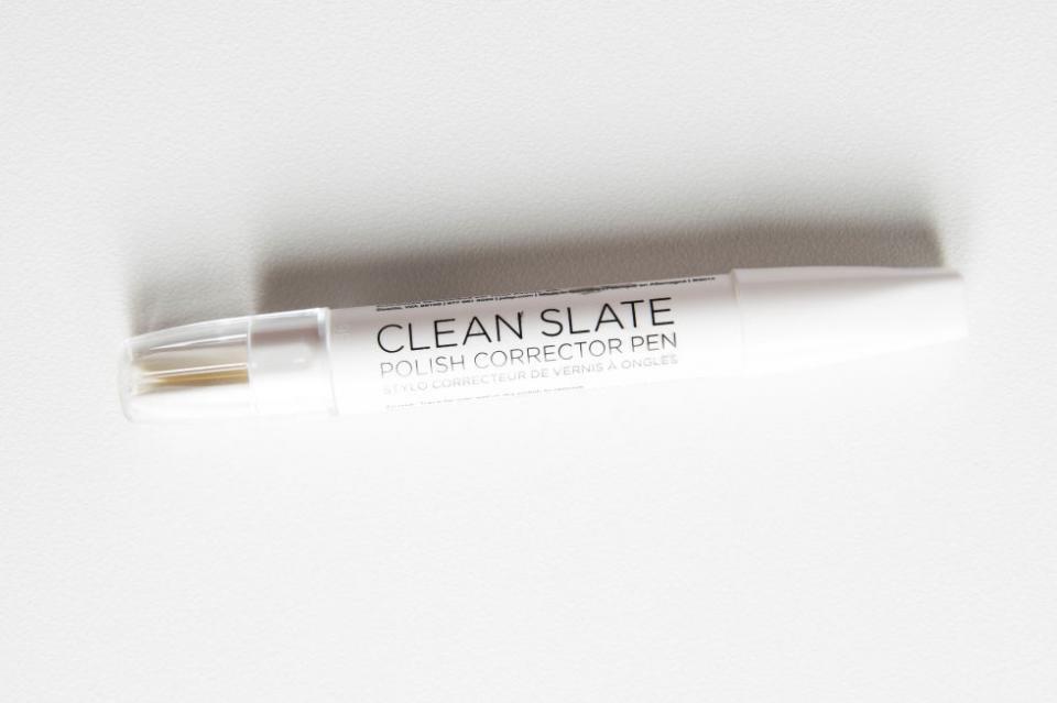 2. A Nail Polish Correcting Pen.  Try Julep Clean Slate Polish Corrector Pen.