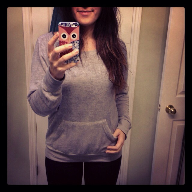 here's a great find 20$ softest sweater ever! and yes that's me ! :)
