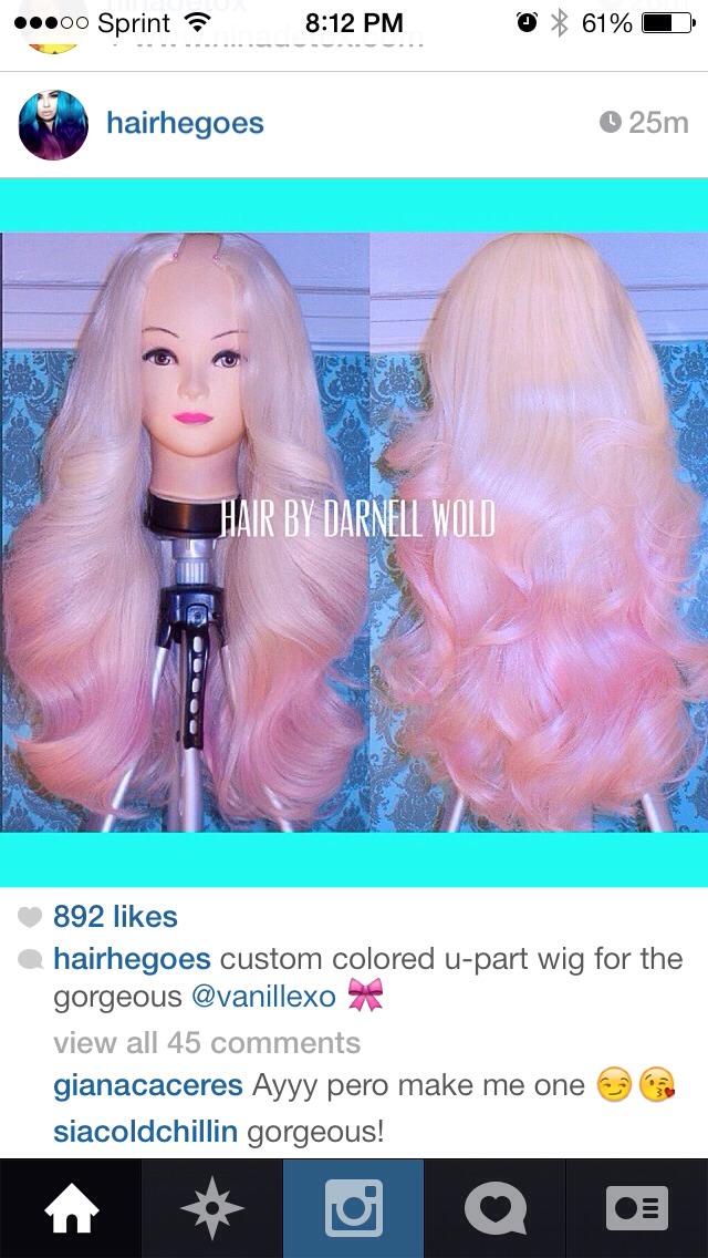 Wow! Hair God!