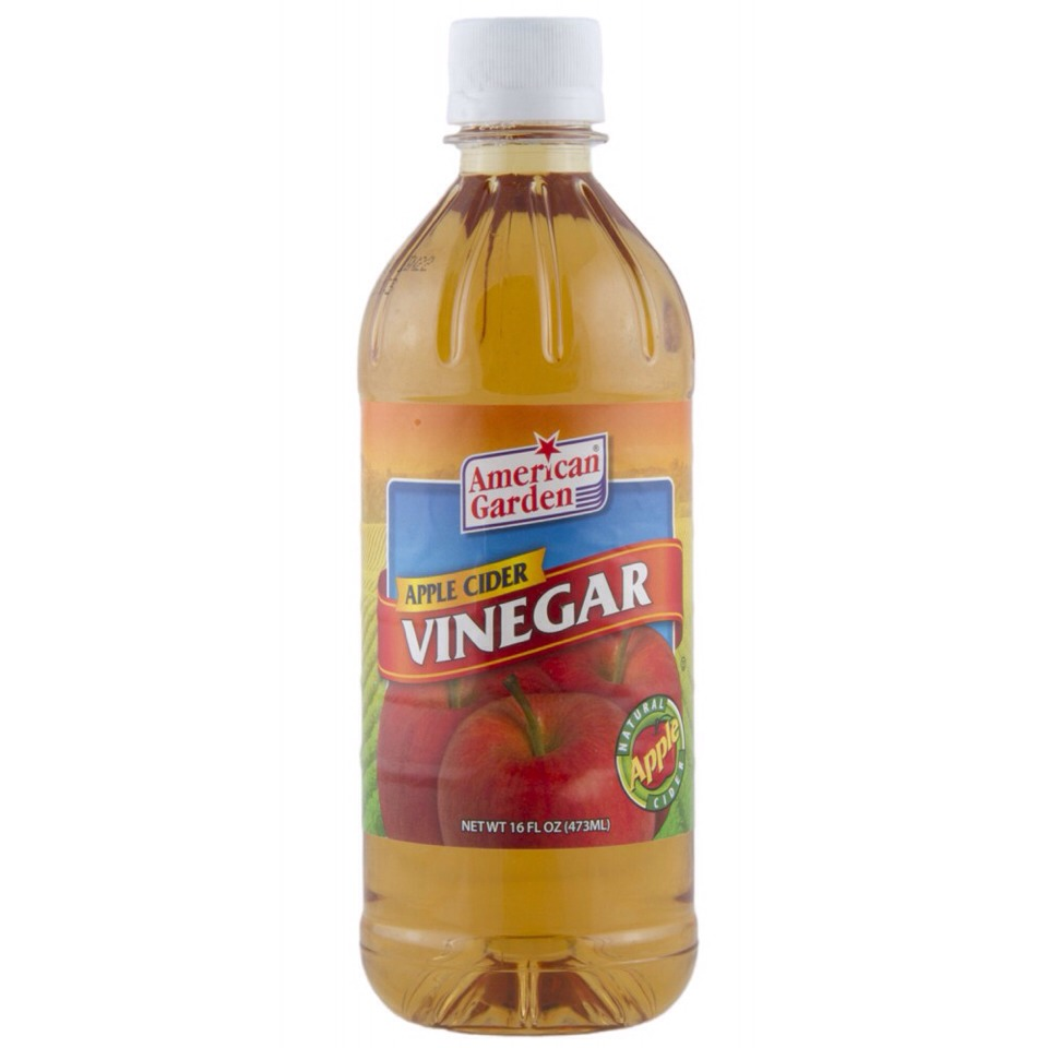 1 tbsp of Apple cider vinegar