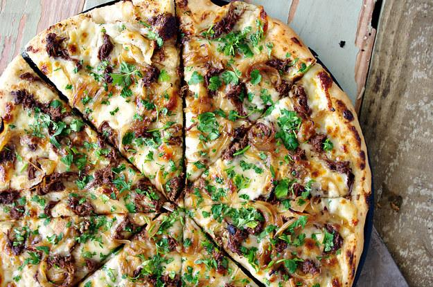 5. French Dip PIzza