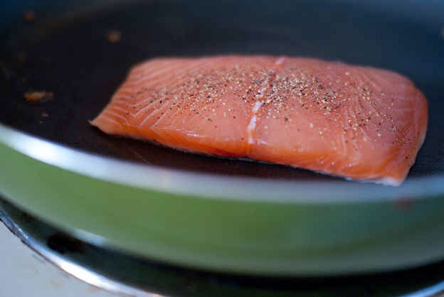 10. Farm-raised salmon is dyed pink, because it's normally gray.