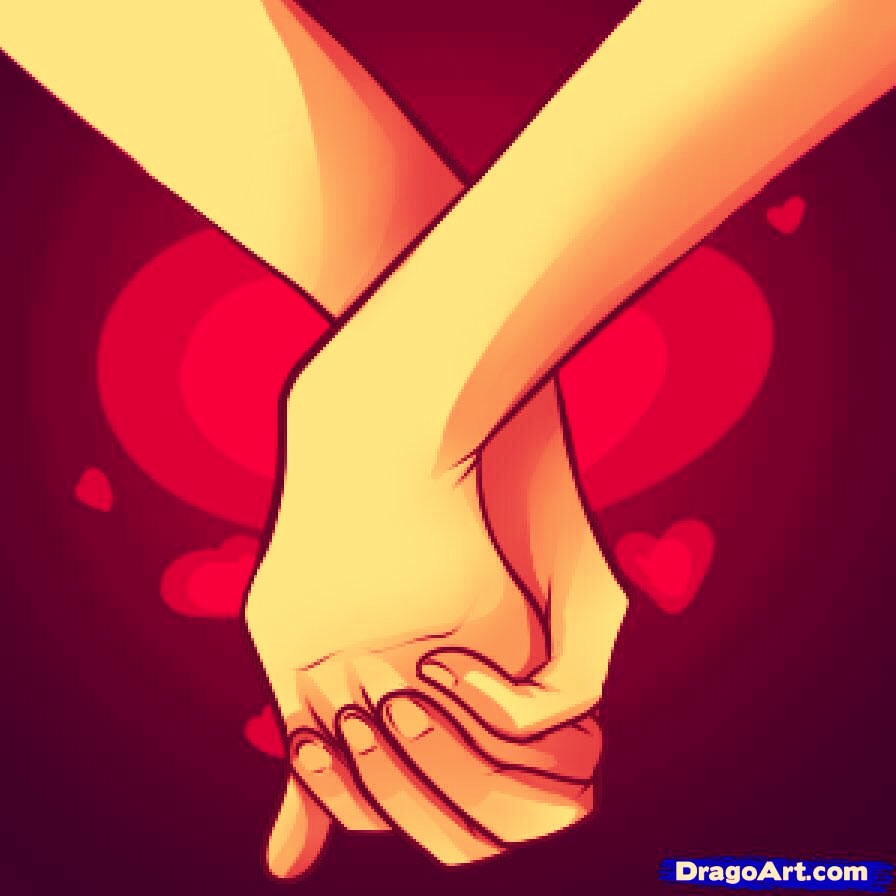 Holding a loved ones hand relieves stress and pain