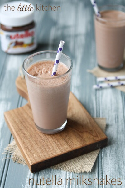 how to: Nutella milkshake  [need: 3tbsp of Nutella, a frozen banana, a handful of ice]  1. blend all the ingredients together! top with whipped cream or chocolate sauce, whatever you like!