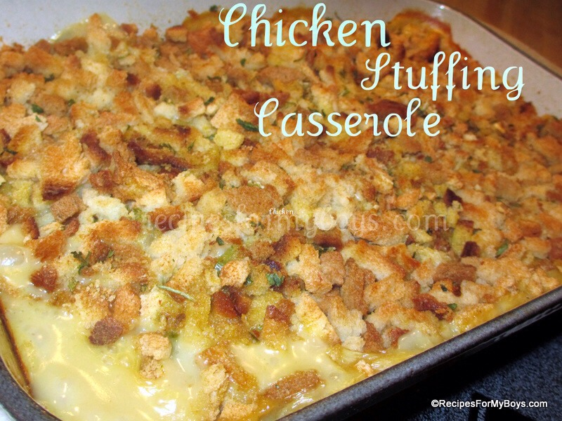 Easy Chicken Stuffing Broccoli Amp Cheese Casserole By Nate Klein Musely