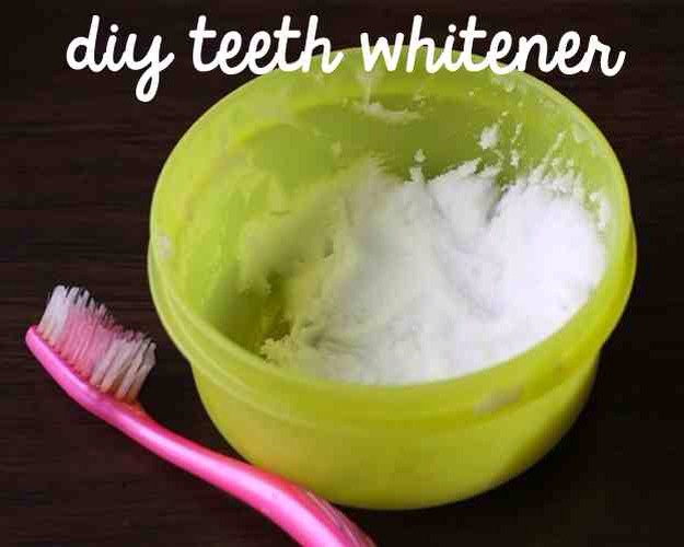 14. Here's a simple DIY teeth whitener trick   Mix together a little toothpaste, one teaspoon of baking soda, one teaspoon of hydrogen peroxide, and a half a teaspoon of water. Brush your teeth for two minutes. Do this once a week until you have the desired results. After your teeth look nice