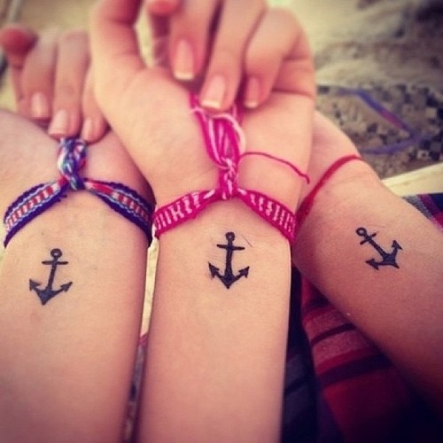 Tattoos need an idea for 3 best friends  Yahoo Answers