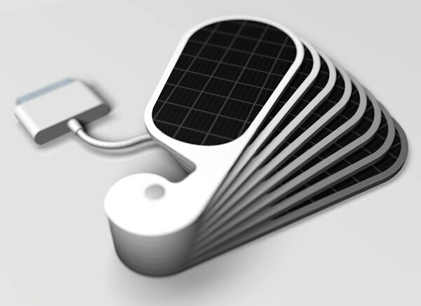 solar panel charges