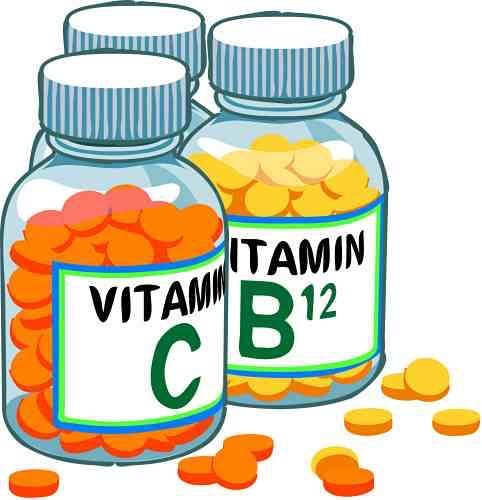 Take a daily multivitamin! Vitamins keep our skin, hair and nails healthy