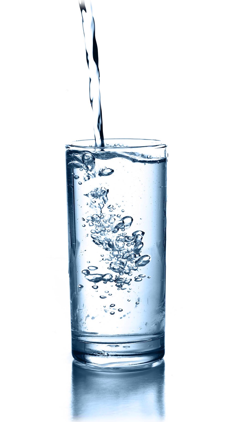 If you're getting pimples, drink more water so your skin stays fresh and hydrated.
