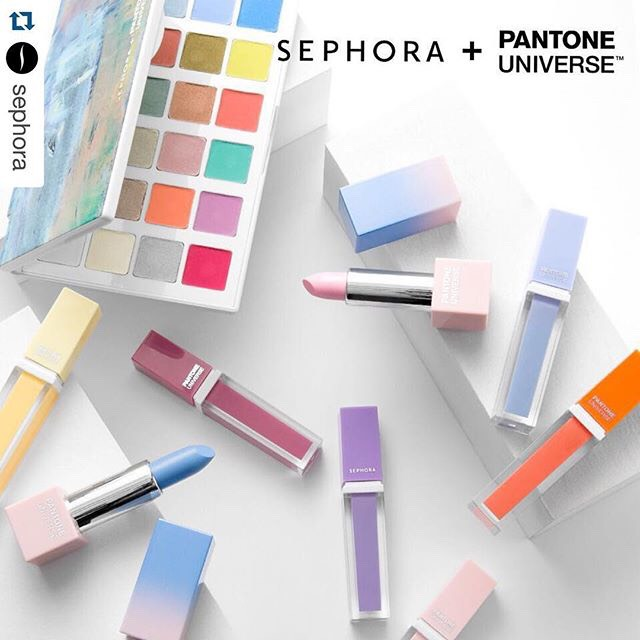 Sephora has a large choice of products for pantone color products! Even there own collection! Absolutly love it😍