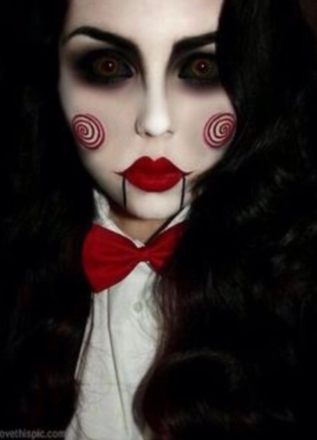 Get a dark wig and a white shirt, black jacket and red bow tie