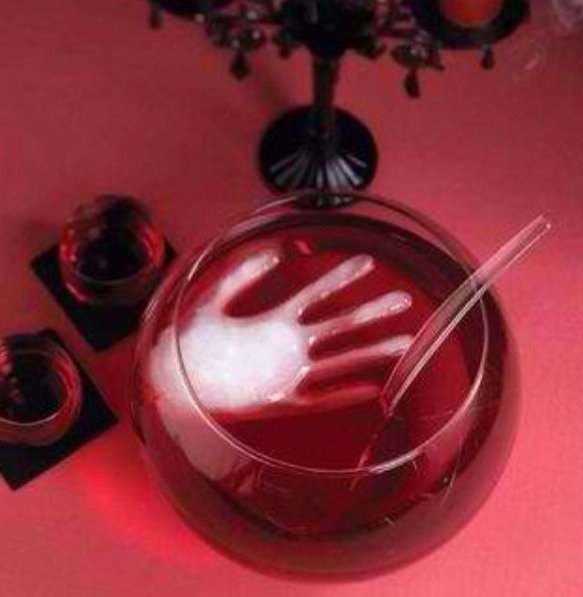 All you need to do is Freeze Water In A Surgical Glove To Make A Scary Ice Cube!